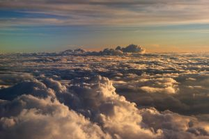 Sky from above II by Kyniek