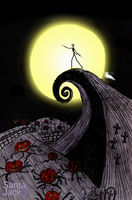 Tim Burton's The Nightmare before Christmas by SantaJack8
