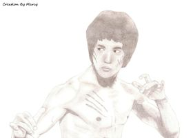 Bruce Lee by Marcyella86