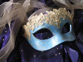 Aphrodite Handmade Leather Masquerade Mask by ToTheMask