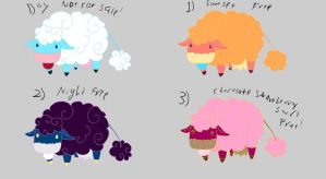Cloud cow free adoptables- SOLD by Feendra13