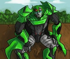 TF4: Crosshairs commission by Succubii