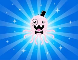 Super Happy Awesome Octopus by Kittensoft
