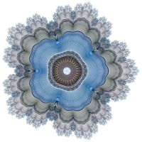 Blue Lace Doily by PaulineMoss