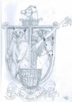 The Muzzled Bear and the Headless Knight by CuoreASpirale