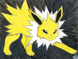 Jolteon by ShadowWolfKnight