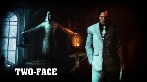 Two-Face (Harvey Dent) Wallpaper by BatmanInc