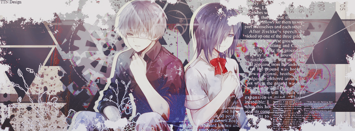 Cover Facebook Ken - Touka by Na-July-Mana