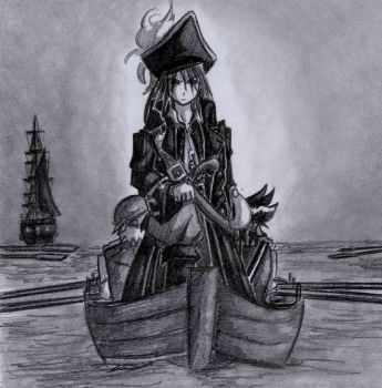 Pirate by EvilFairy144