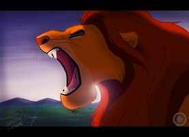 The King's Roar by TuesdayTamworth