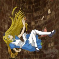 Alice in Wonderland by DollMarionette