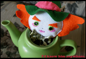 A Hatter for Tea. by xMoshyMCCOY