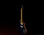 3D Guitar Body Low by BKrootz