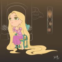 Rapunzel by xerrife