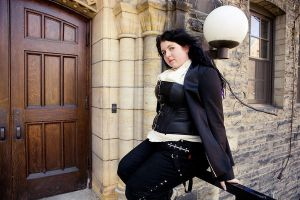 Corsets and sitting...fun.... by chibi-lenne