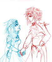 30 Day OTP Challenge - Day 1 ~ Holding Hands by CloudKiller7