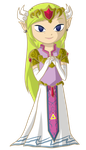 Giftie: ST Zelda all grown up by Icy-Snowflakes