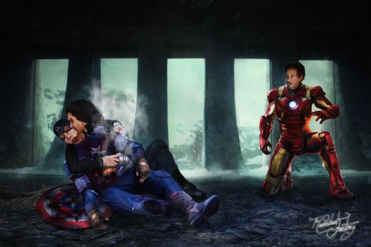 Civil War - The Bad Ending (wallpaper) by thecannibalfactory