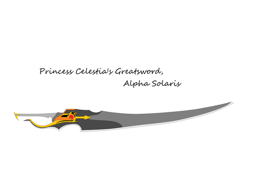 MLP Kingdom Weapons - Alpha Solaris by thecreature1000