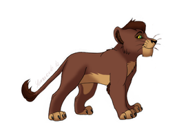 Cub Kovu by Phantassel