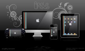 Lineas de Apple by acg3fly