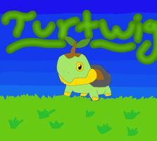 A Wild Turtwig Appeared! by mermaidgirl013