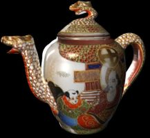 Dragon Teapot Side by ChozoBoy