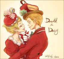 Donald and Daisy by chacckco