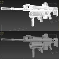 SCAR-H TPR WIP4 After Turbosmooth by MrJumpManV4