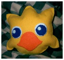 Chocobo Plushie by Kelzky