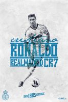 CR7 old poster by riikardo