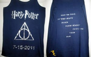 HP shirt for the last movie by LadyWithoutAName