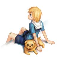 Jake and Finn by Advanced-Random