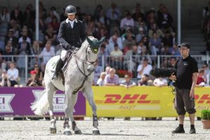 3DE Show Jumping Phase Stock 101 - backwards by LuDa-Stock