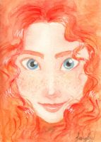 Merida of Dunbroch by Sandra-13