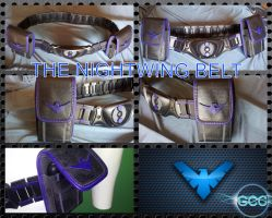 The GCC Nightwing Belt by Cadmus130