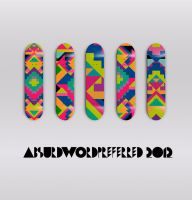 Skate Deck Pattern by AbsurdWordPreferred