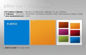 CS3 Inspired Wallpaper Pack by pica-ae