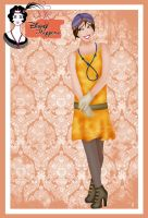 Disney Flapper - Jane by HelleeTitch