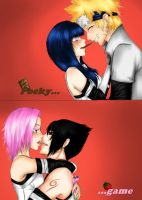 Pocky game! by Ceres97