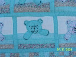 Spencer's Baby quilt by fabgrandma