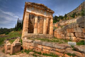 Treasury of the Athenians by mr-lacombe