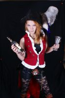 Steam Punk Pirate Why is the Rum Gone? 4 by emodicon