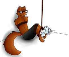 Tied and tickled by Skyler-The-Fox