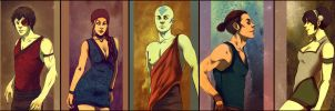 Avatar - The Last Airbender by andrahilde