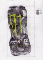 Monster Can by Bubbke
