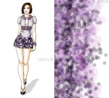 purple rain by Tania-S