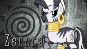 Zecora Desktop Wallpaper! by 4EverRandomPuppy20