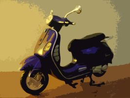 vespa dream by vudin