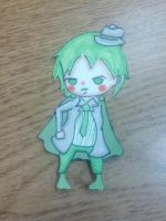 Hazama- Commission by The-Lovely-Fagot